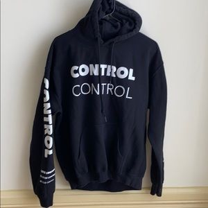 Tops Camila Cabello She Loves Control Hoodie Black M Poshmark
